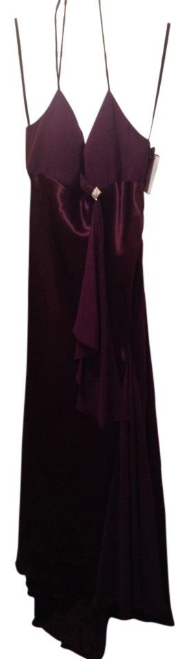 Beautiful gorgeous plum evening gown. Brand new.