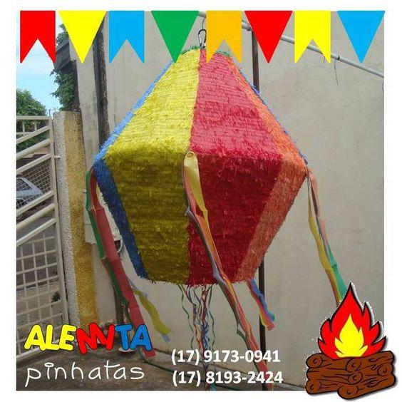 Pinhata Balão Junino #pinhatabalãojunino #pinhatasembrasil