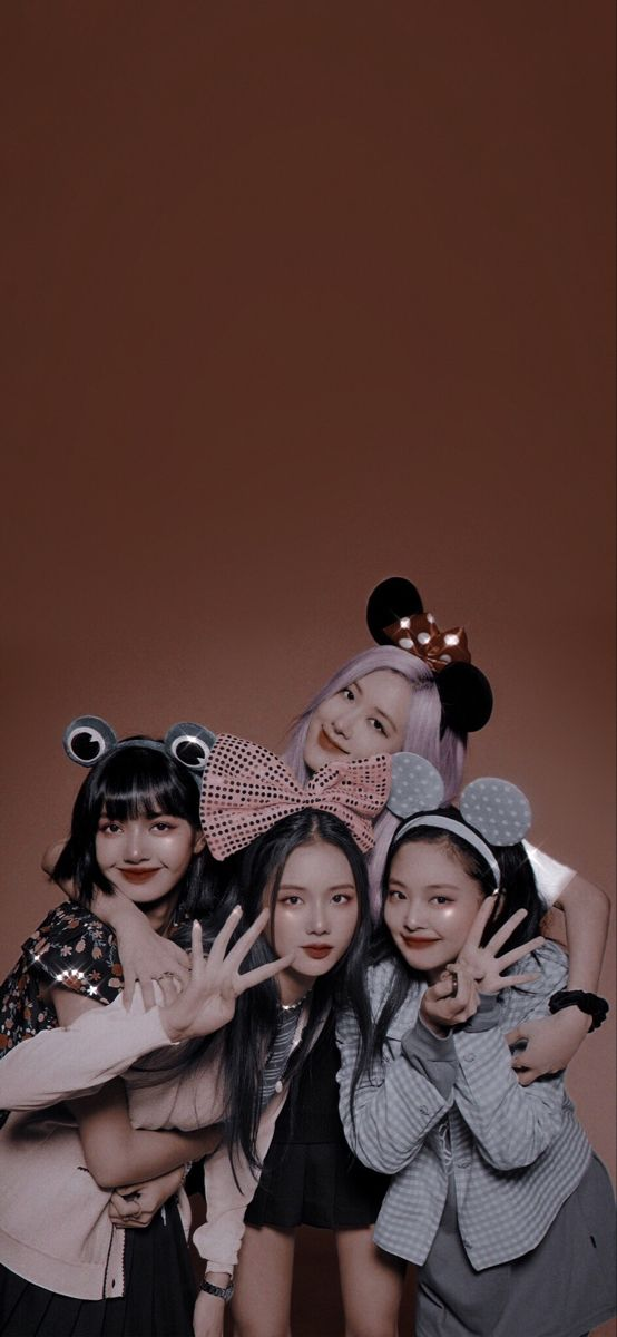 Black pink wallpaper android