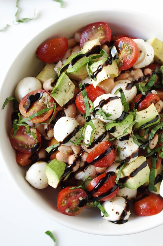 Just in time for summer, this Avocado Caprese Salad with Balsamic Glaze is light, fresh and delicious. Win a $100 Target gift card by sharing a tasty-looking photo of your favorite summertime food on Crowdtap and your social channels!: