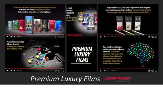 #Derprosa 'Premium Luxury Films' Discover the widest range of luxury films that will make your #packaging shine bright like jewels! Learn more: http://bit.ly/1JTUt6c