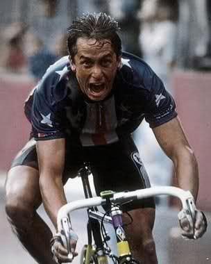 greg lemond-only American TdF winner.  And he did it 3 times.