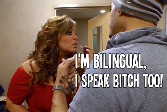 Bilingual bitch  Jenni RIvera