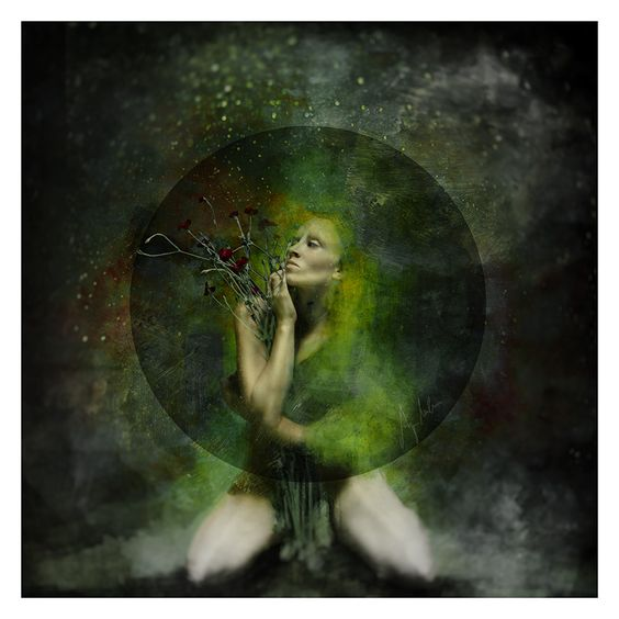 du waechst im dunkel by AnjaMillen