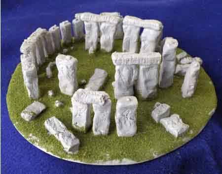 build a 3d model of stonehenge models and designs unit