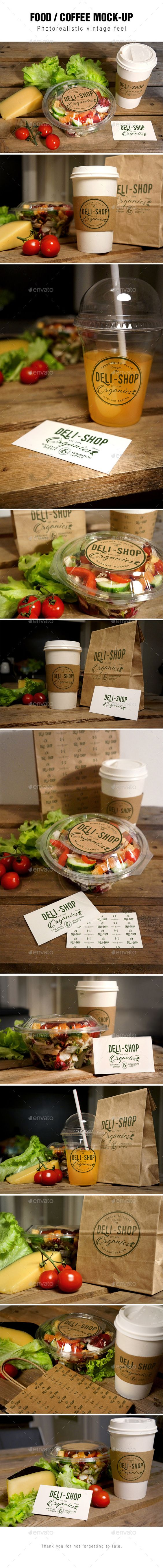 Food / Coffee Mockup | Download: http://graphicriver.net/item/food-coffee-mockup/11043417?ref=ksioks