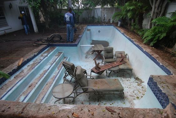 Swimming pool to rainwater harvesting conversion this is the first yard in north america to for American swimming pool systems