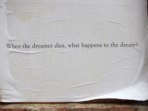 Keep dreaming no matter what.