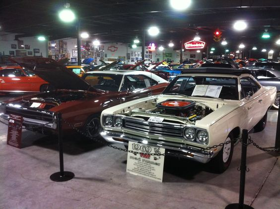 70 Charger and a 69 1/2 Roadrunner - Garett's Muscle Car Museum, Sevierville TN