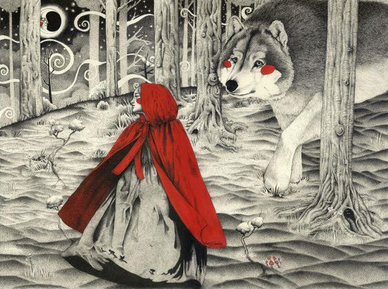 LITTLE RED RIDING HOOD BY LADY ORLANDO: