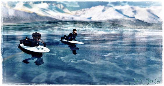 winter surf - Google Search