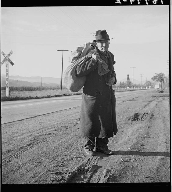 Napa Valley California December 1938