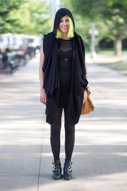 Lollapalooza 2013 street style: Christina Schroeter of Family of the Year