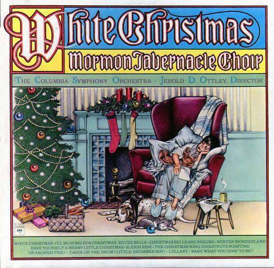 M34546 - Mormon Tabernacle Choir White Christmas Columbia Symphony