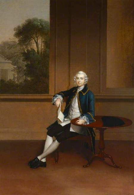 Arthur Devis, portrait of Joshua Iremonger III, at Uppark. ©National Trust, image supplied by the Public Catalogue Foundation