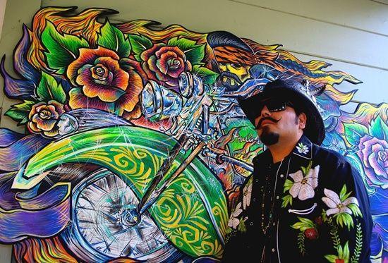 """Xicanindio"" by El Moisés #Mural #LatinoArt"