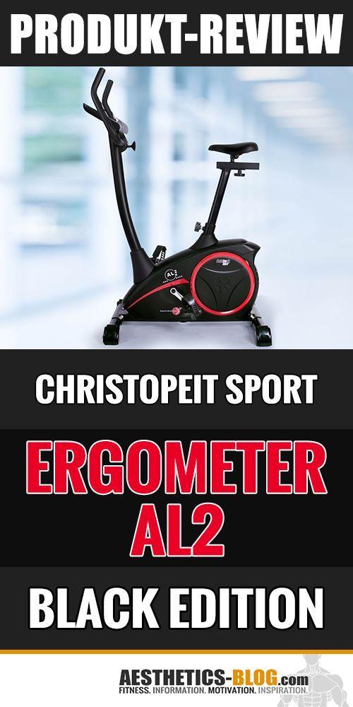 Review Das Ergometer Al2 Black Edition Von Christopeit Ergometer Christopeit Fitness Tipps