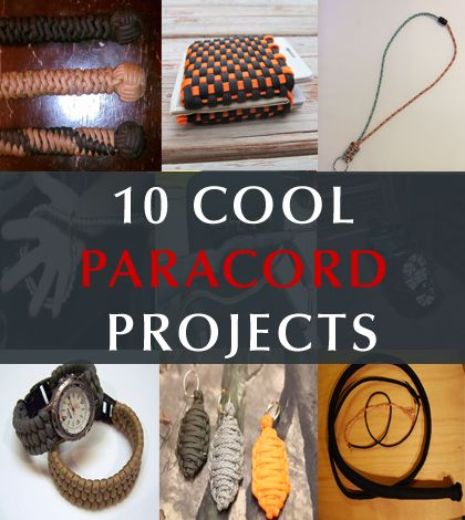 10 cool paracord diy projects for Cool paracord projects