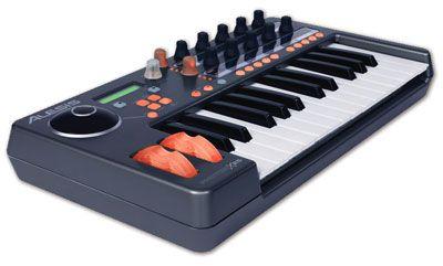 Alesis Photon X25 MIDI controller for controlling VDMX