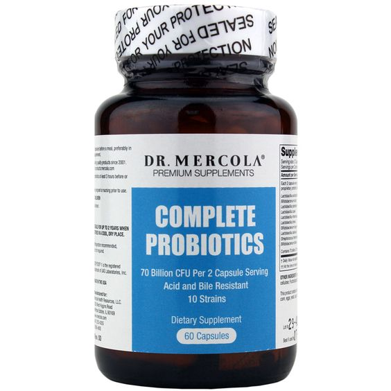 Complete Probiotics by Dr. Mercola contains 70 billion live cells from 10 strains to support intestinal flora and optimal gut health. Order online.