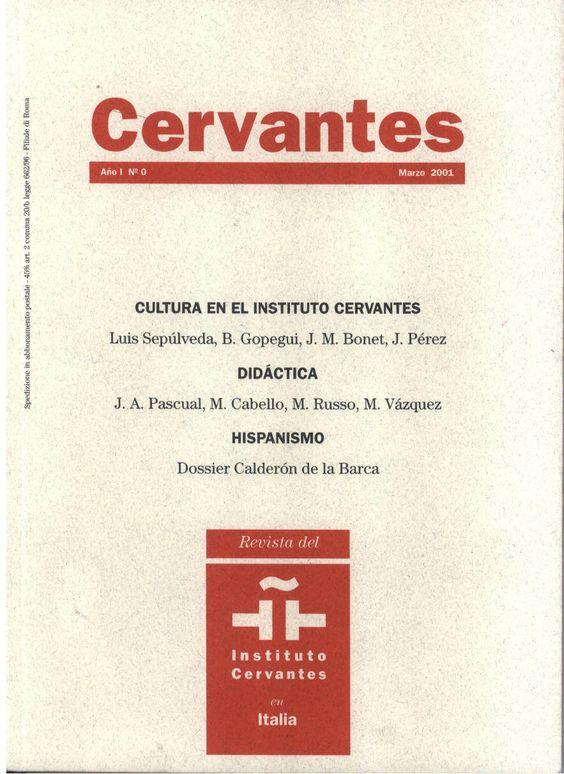 Revista del Instituto Cervantes en Italia