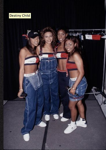 1996: Destiny's chil at Maceys @kemsxdeniyi Destiny's Child: