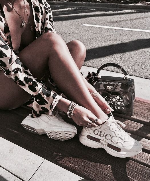 R I A Chanel Sko Sko Sneakers Adidas Sko