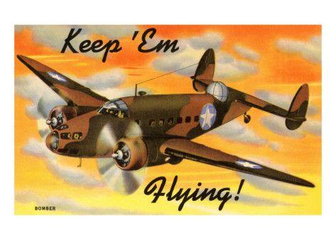 Bomber Airplane ww2