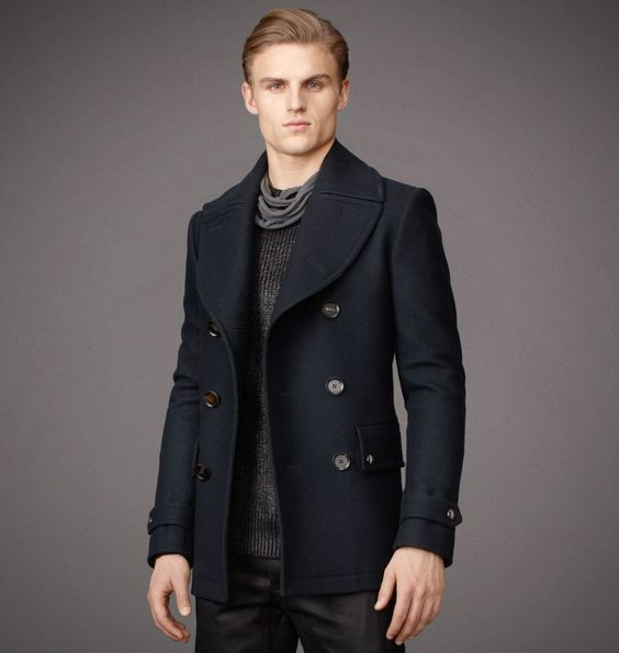 Belstaff | Mens Wool Brentwood Coat | Mens Designer Jackets