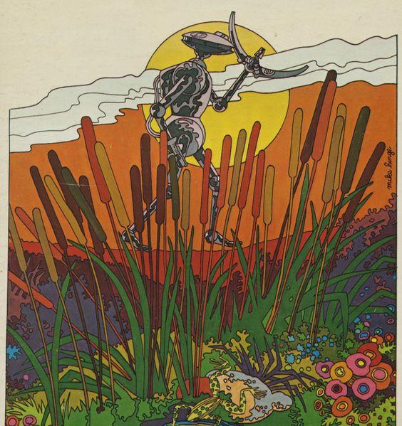 70s Sci-Fi Art: Mike Hinge, 1972