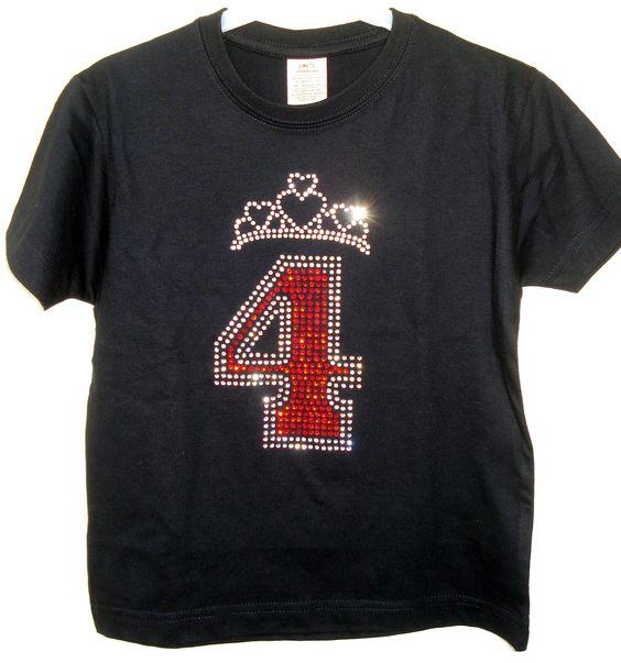 Geburtstags T-Shirt für Mädchen Mache Deine kleine Prinzessin nicht nur an ihrem Geburtstag sondern das ganze Jahr über zum Mittelpunkt der Aufmerksamkeit!!! http://www.claudiocrissi.de/kids-shirts/geburtstags-t-shirt/