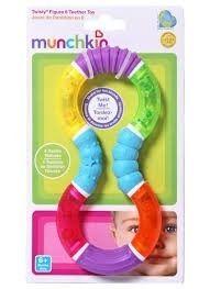Mordillo 8 Texturas Sonajero Munchkin Libre De Tóxicos - $ 108,00