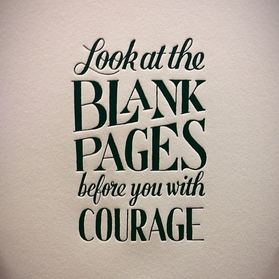 I'm writing an essay about courage.OUT OF IDEAS!?!?