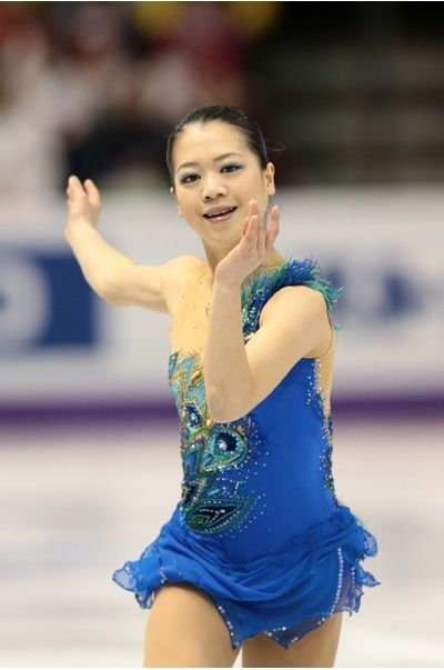 Akiko Suzuki(JAPAN) : World Figure Skating Championships 2013 in London(CANADA)