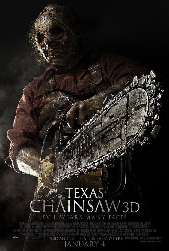 Texas Chainsaw 3D~ Good way to bring the story into present day.  Actually, kind of touching in a creepy way.