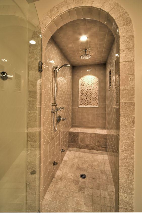 Rustic Steam Shower By Debbie Evans Rustic Bathrooms