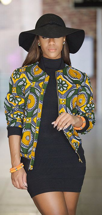 Ankara bomber jacket - this versatile piece is so in this season. Up trend the bomber by leaving the jeans behind and going for a cool, clean casual look. So stylish this season. Comes with twin side pockets, front zip. Available in: Small, Medium, Large and Xtra large. African print, ankara print, fashion blogger (affiliate)