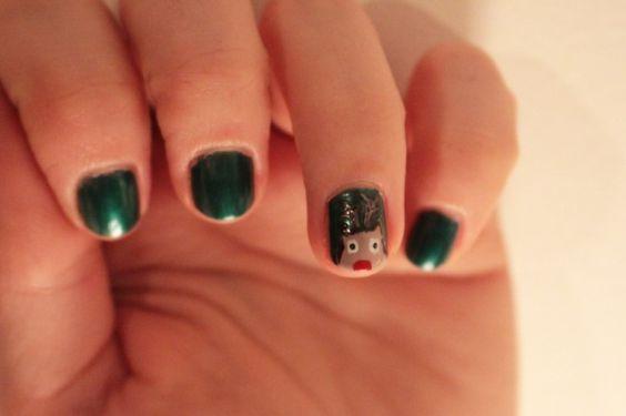 #Rudolph est avec moi ! | Marinette Saperlipopette #NailArt #Manucure #Tuto #ChristmasSpirit
