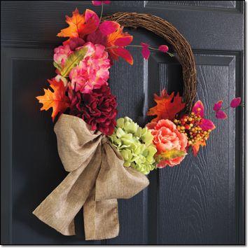 Autumn Romance Wreath