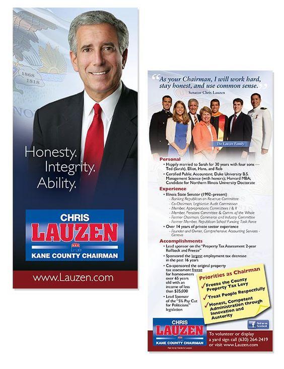 Chris Lauzen, Kane County Chairman