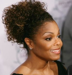 Phenomenal Black Women Naturally Curly And Janet Jackson On Pinterest Hairstyles For Women Draintrainus