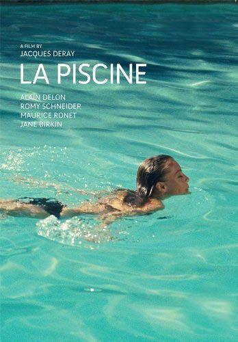 """Cartel Francés de """"La Piscine"""" (1969)"""