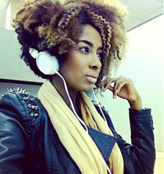 Faux Wedge Style #Naturalhair // Tutorial: https://www.youtube.com/watch?v=M9tORBwISq8