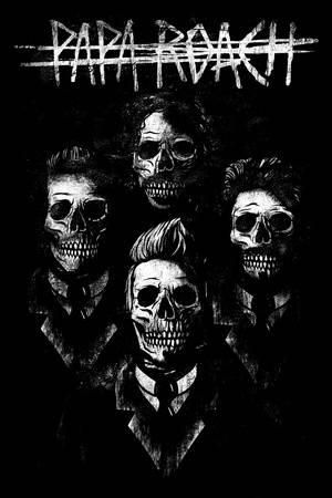 Papa Roach Portrait Posters Allposters Com Papa Roach Band Posters Heavy Metal Music