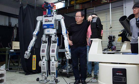 Hubo, el robot que salvará vidas humanas