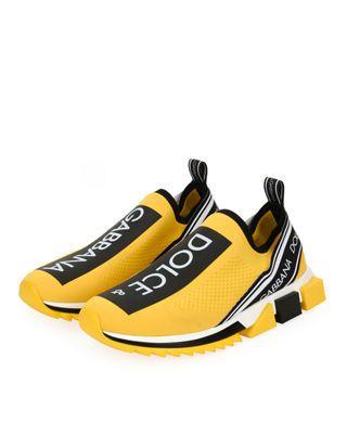 Sorrento Logo-Stripe Sock Sneakers