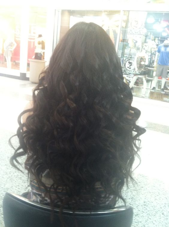 how to get tight curls with a wand