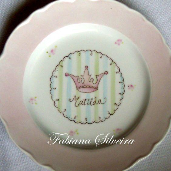 plato para princesas