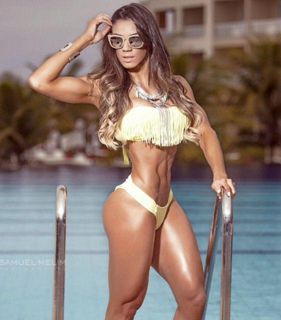 Single female fitness models