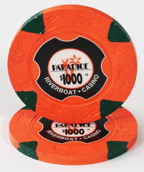20 $1000 ParADice Casino Paulson Poker Chips
